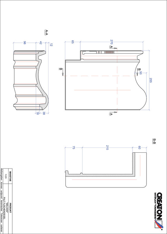 Proizvod CAD file MELODIE pult crijep PULTFLA