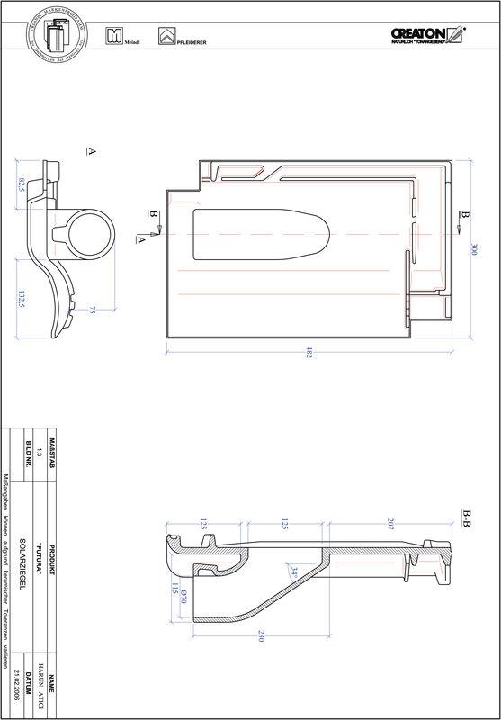 Proizvod CAD file FUTURA prolaz cijevi solarnog kolektora SOLAR