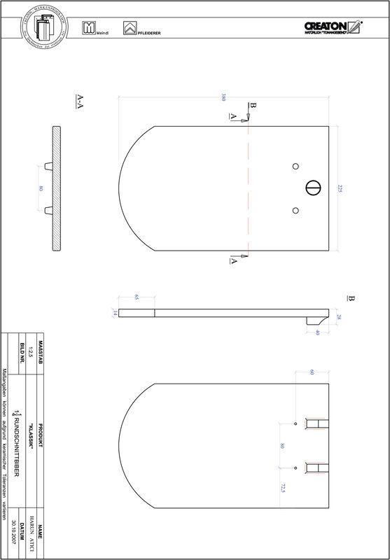 Proizvod CAD file KLASSIK zaobljeni RUND-1-1-4