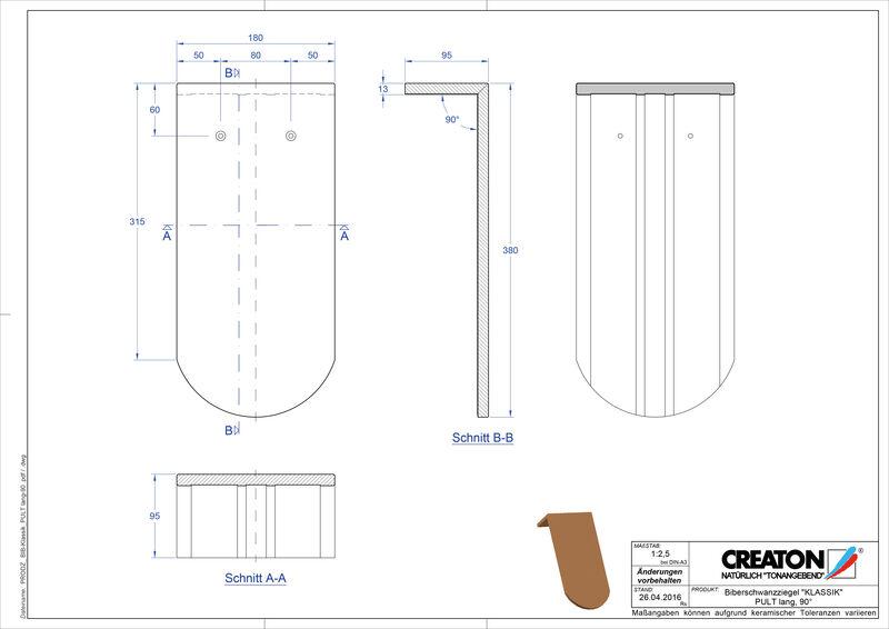 Proizvod CAD file KLASSIK zaobljeni RUND-PULT-lang