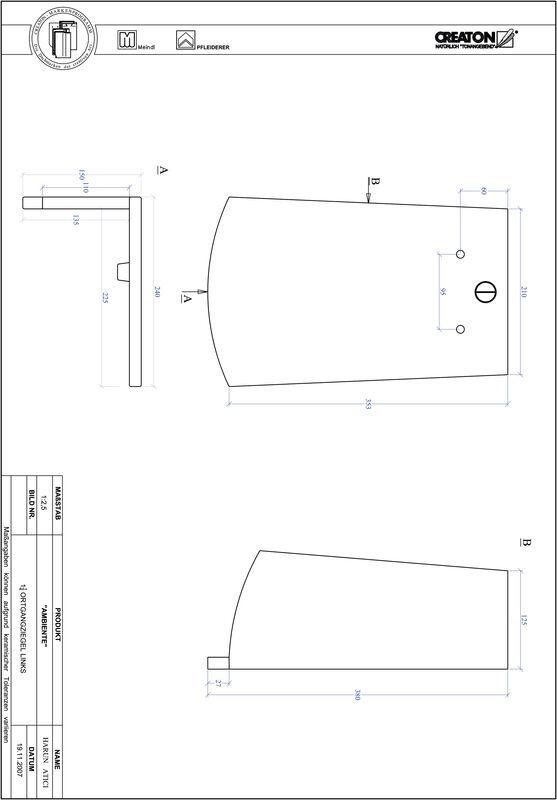 Proizvod CAD file AMBIENTE segmentni rez SEG-OGL-1-1-4