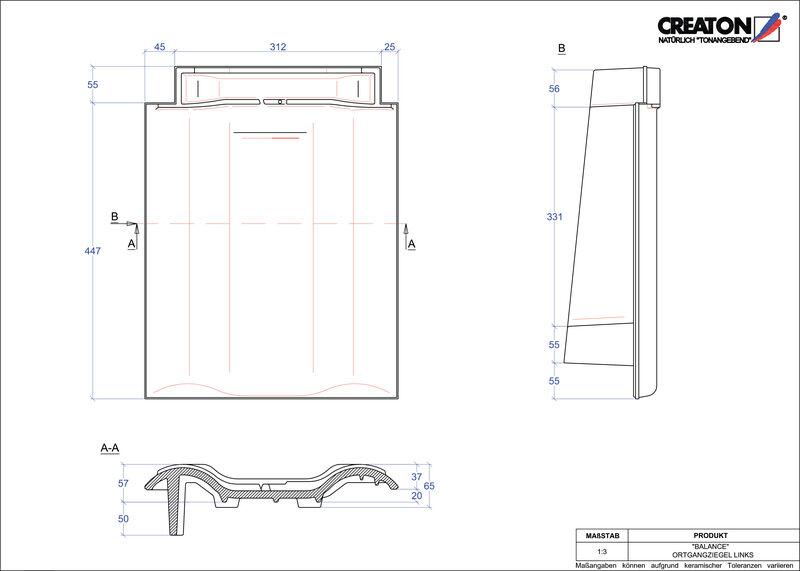 Proizvod CAD file BALANCE rubni lijevi OGL
