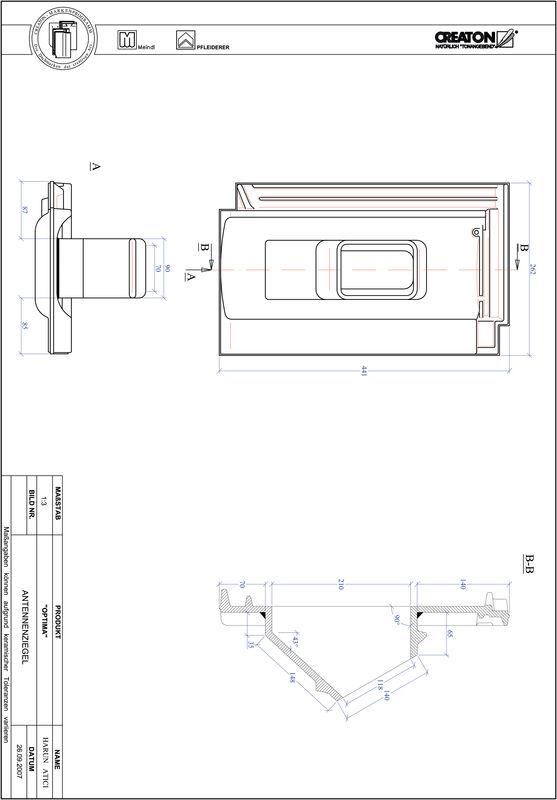 Proizvod CAD file OPTIMA antena ANTENNE