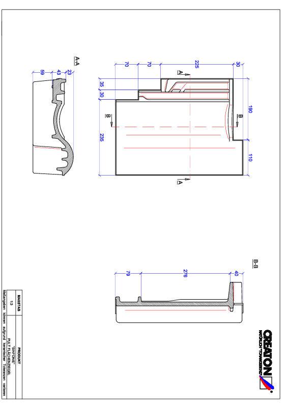 Proizvod CAD file SINFONIE pult crijep PULT