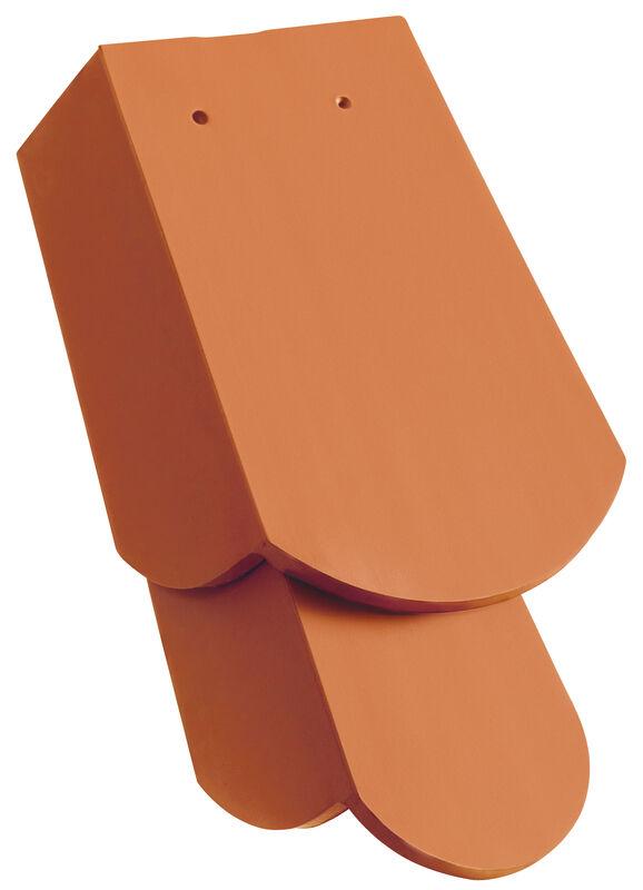 KLASSIK zaobljeni kroj rubni crijep 3/4 lijevi sa dugim zabatom cca. 11 cm