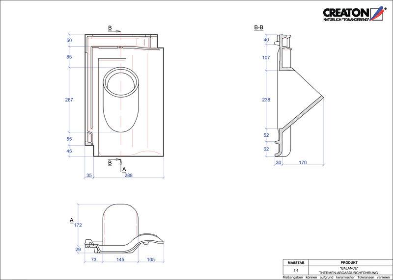 Proizvod CAD file BALANCE dimovodni crijep THERME