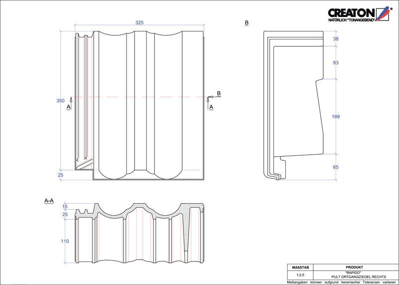 Proizvod CAD file RAPIDO pult crijep rubni desni PULTOGR
