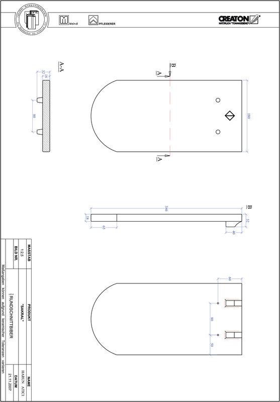 Proizvod CAD file SAKRAL zaobljeni RUND-1-1