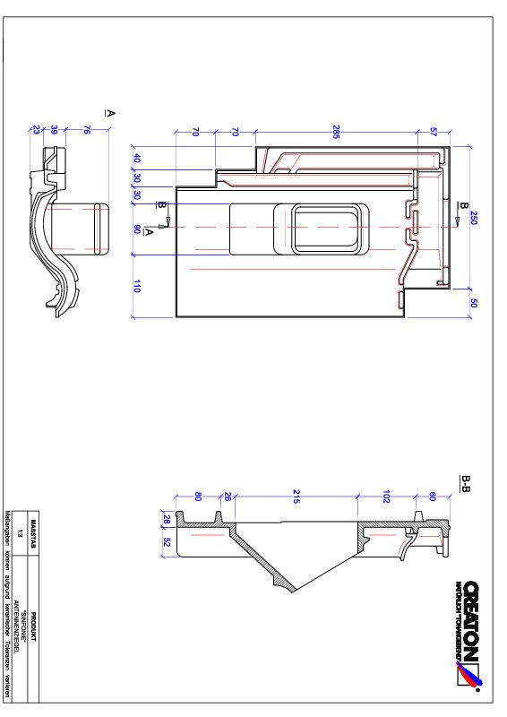 Proizvod CAD file SINFONIE antena ANTENNE