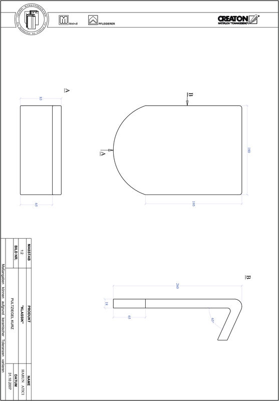 Proizvod CAD file KLASSIK zaobljeni RUND-PULT-kurz1