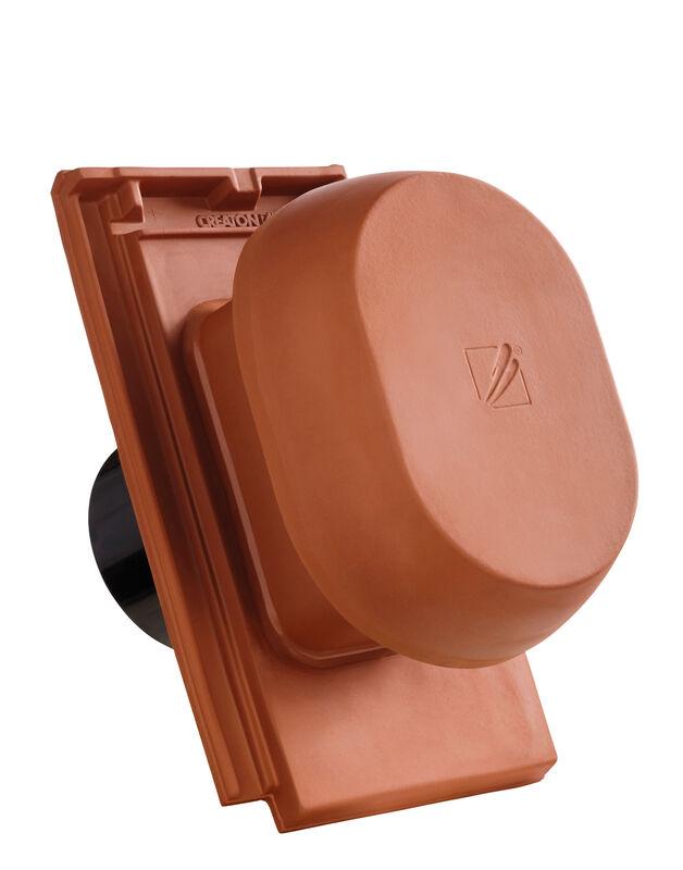 DOM SIGNUM keramički odzračnik 125 mm sa pomičnim poklopcem, adapter za foliju i fleksibilno crijevo