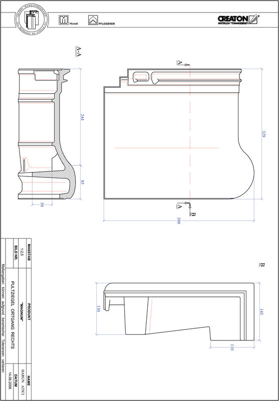 Proizvod CAD file MAGNUM pult crijep rubni desni PULTOGR