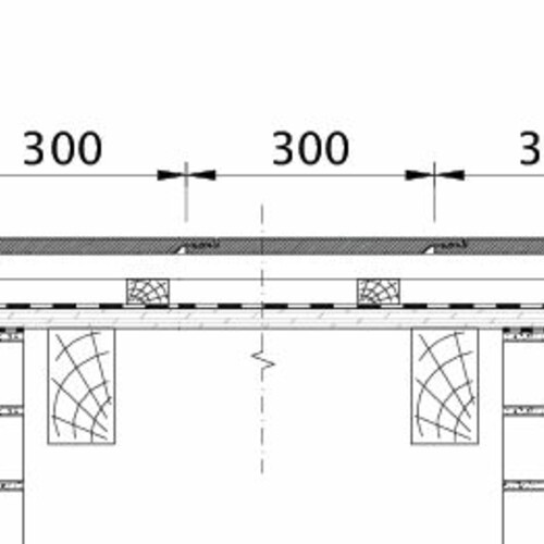 Tehnički crtež proizvoda KAPSTADT ORL EBENE-BDS-2