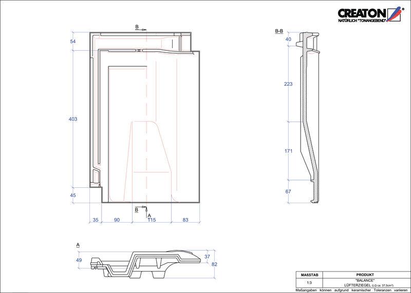 Proizvod CAD file BALANCE odzračnik LUEFTZ