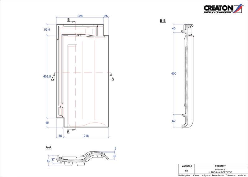 Proizvod CAD file BALANCE polovica crijepa LH