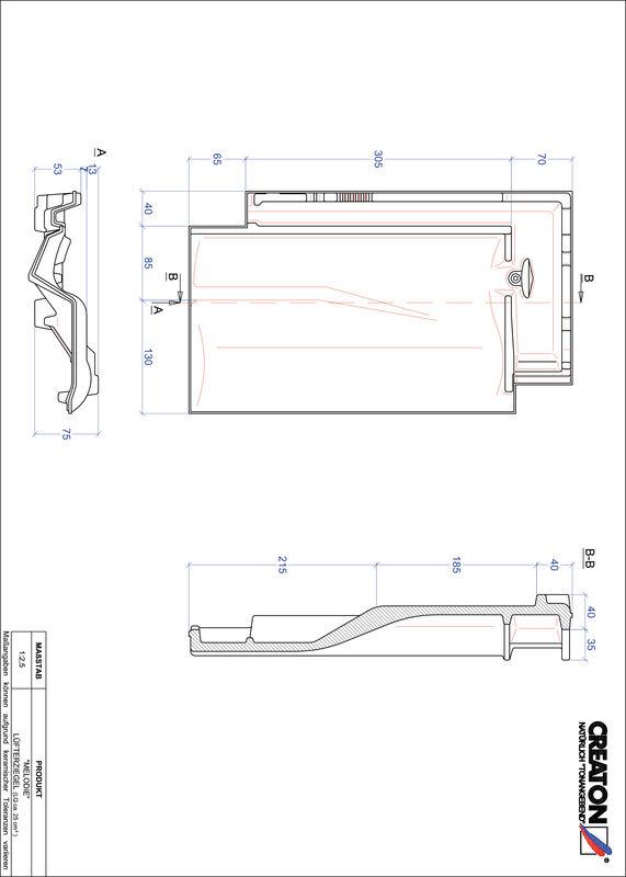 Proizvod CAD file MELODIE odzračnik LUEFTZ