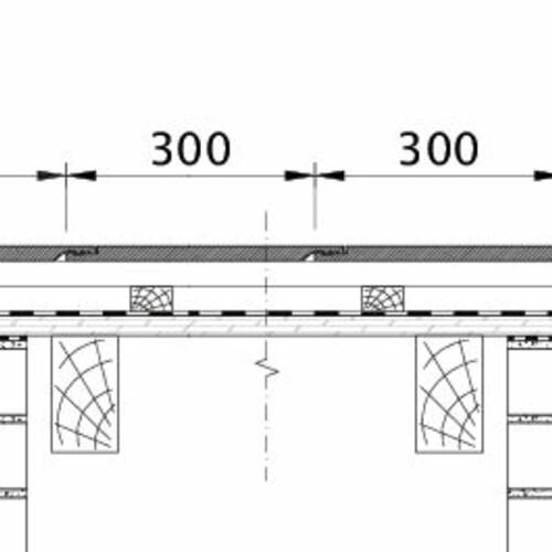 Tehnički crtež proizvoda KAPSTADT ORL EBENE-BDS-1