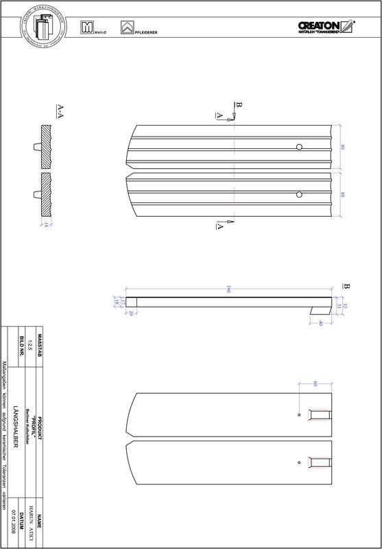 Proizvod CAD file PROFIL segmentni rez BKBI-LH