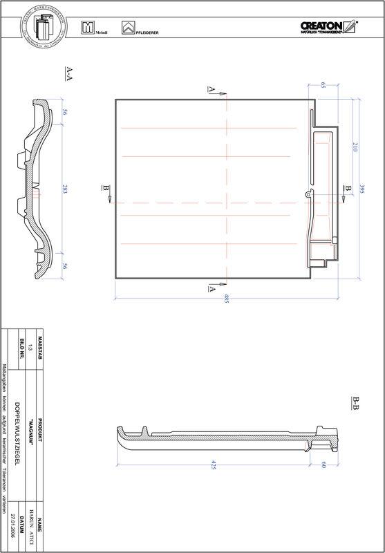 Proizvod CAD file MAGNUM crijep sa dva vala DWZ