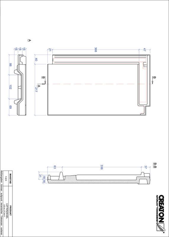 Proizvod CAD file DOMINO odzračnik LUEFTZ