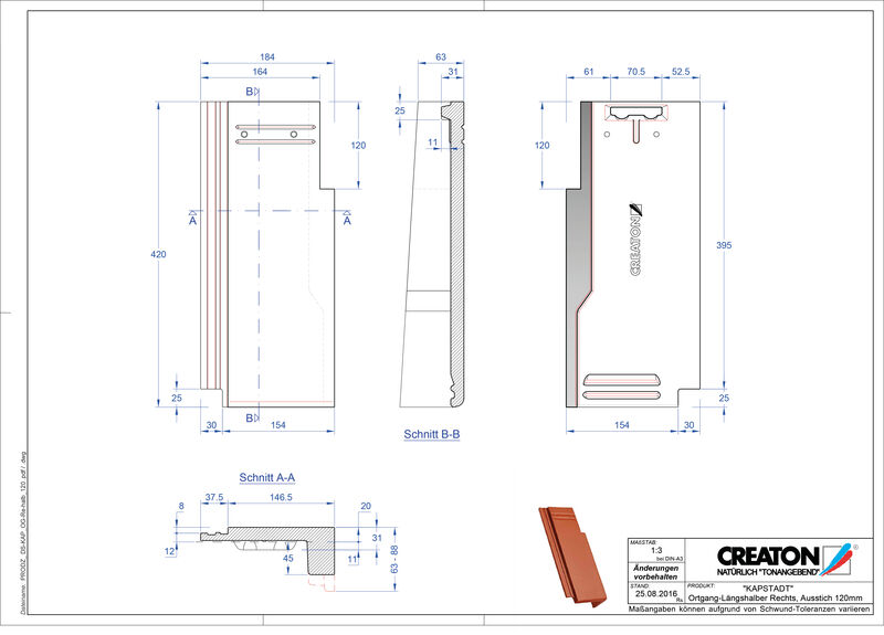 Proizvod CAD file KAPSTADT rubni desni OGR-halb-120