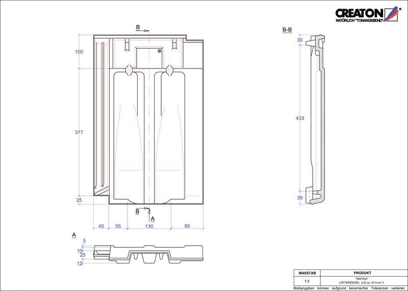 Proizvod CAD file RAPIDO odzračnik LUEFTZ