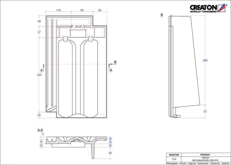 Proizvod CAD file RATIO rubni desni OGR