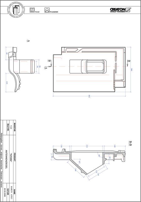 Proizvod CAD file FUTURA antena ANTENNE