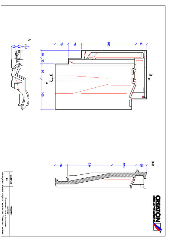 Proizvod CAD file SINFONIE odzračnik LUEFTZ
