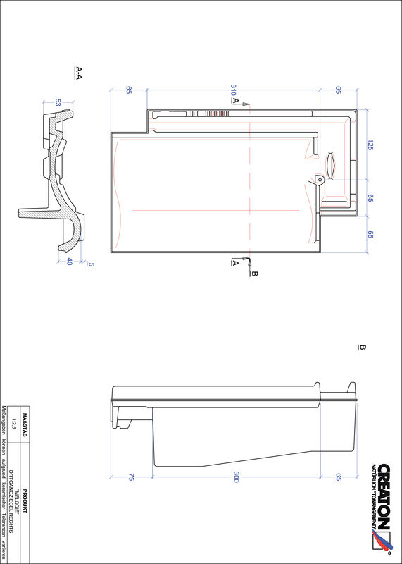 Proizvod CAD file MELODIE rubni desni OGR